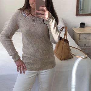 J. Crew Sweater with sequins